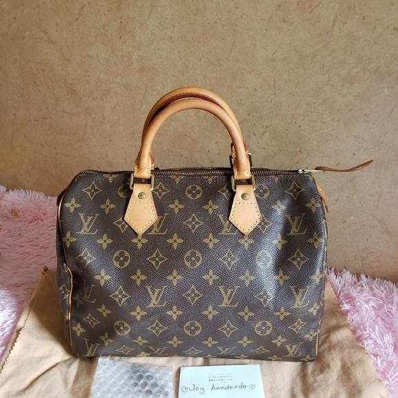 cc2858efa3dc Louis Vuitton Handbags - AUTHENTIC Louis Vuitton vuitton speedy 30 MONOGRAM